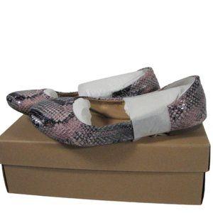 Lucky Brand Emmie Sweet Pea Snake Ballet Flats 7